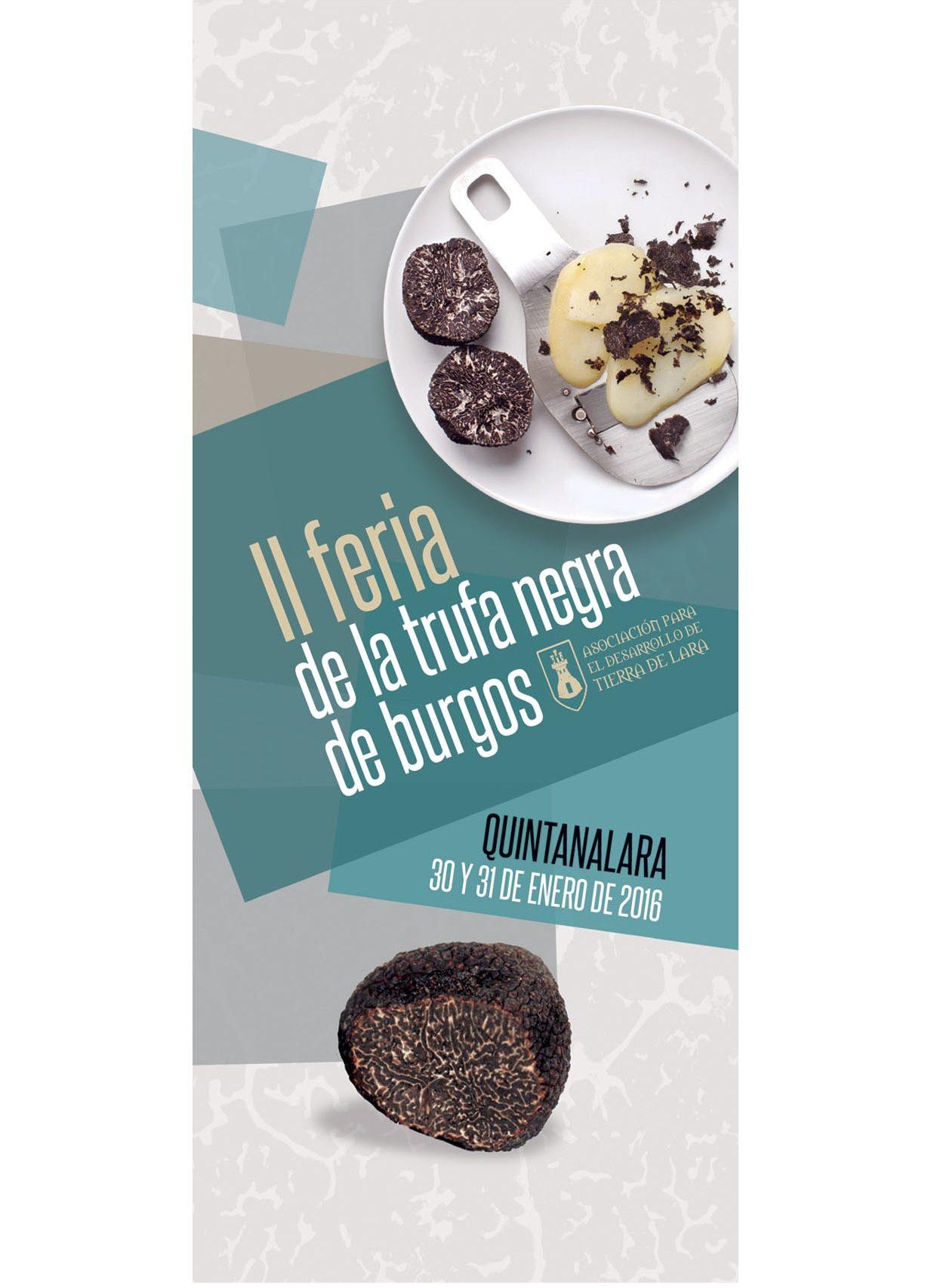 II Feria de la trufa negra de Burgos