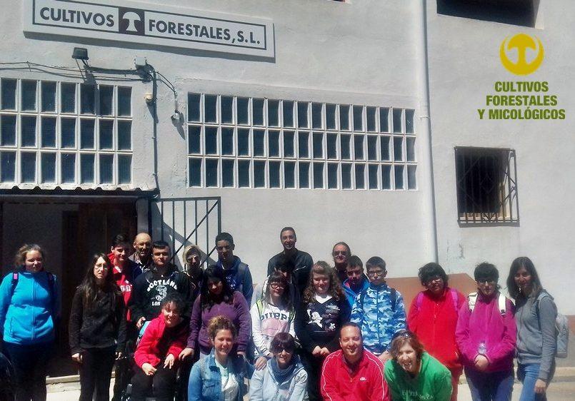 Visita alumnos colegio Gloria Fuertes de Andorra