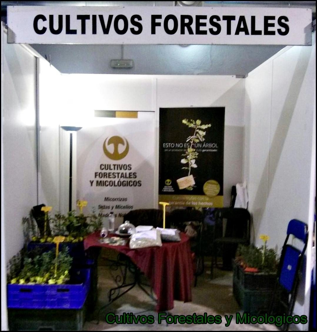 Stand feria Cultivos Forestales