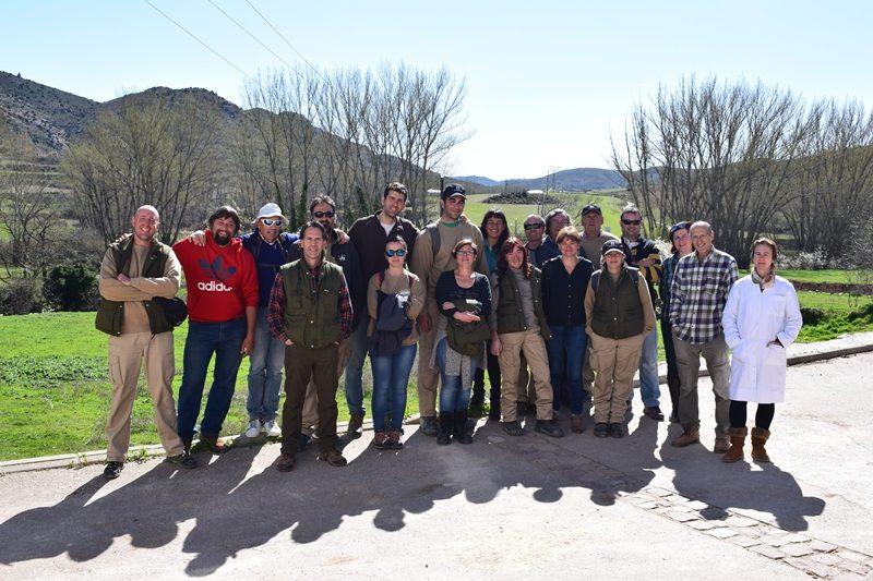 Visita Alumnos Taller de empleo montaña de Teruel