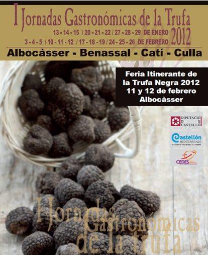 Cartel Feria Trufa Negra Albocasser