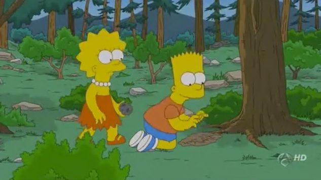 Bart Simpson buscando Trufa