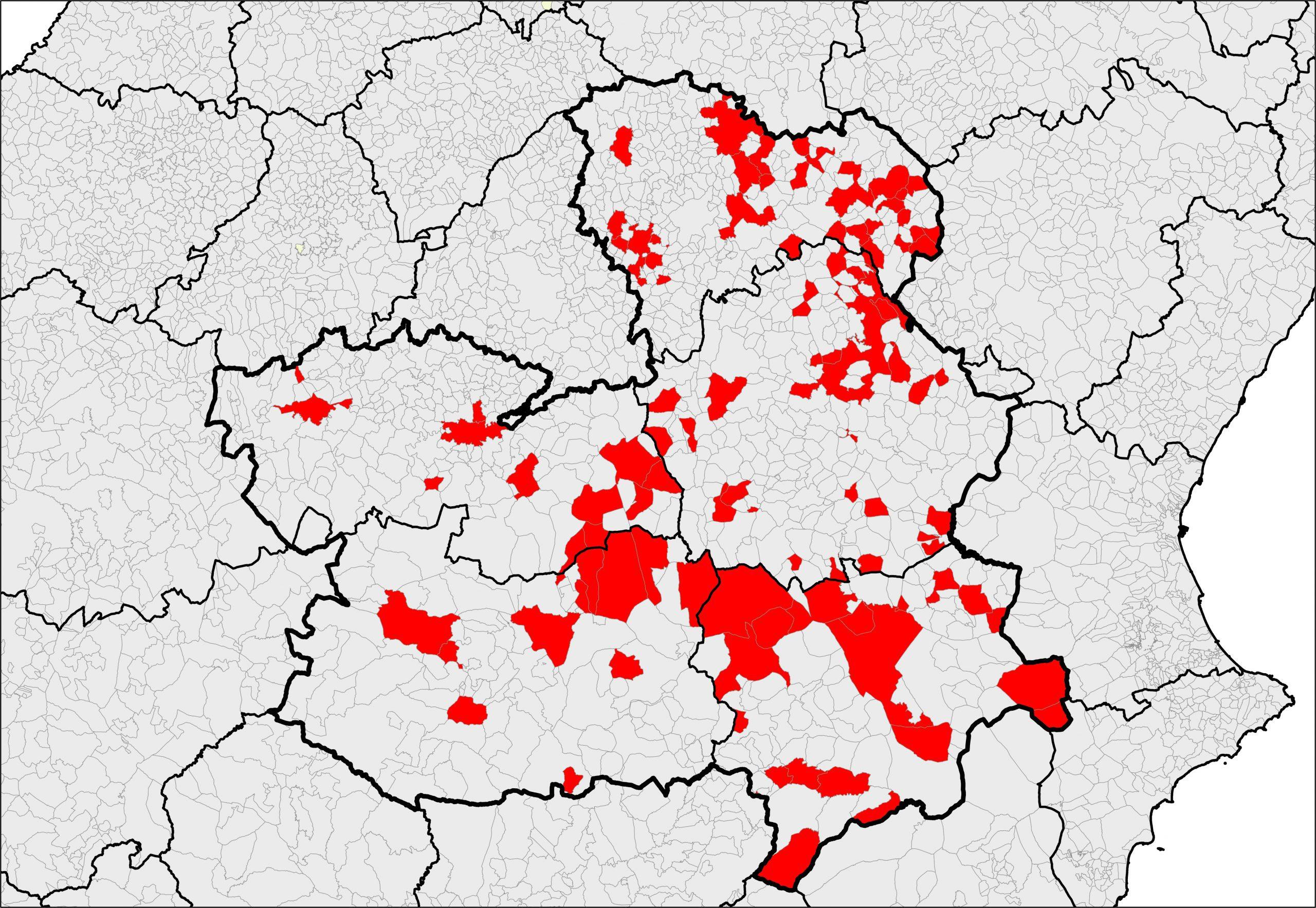 Mapas Cultivos Castilla la Mancha